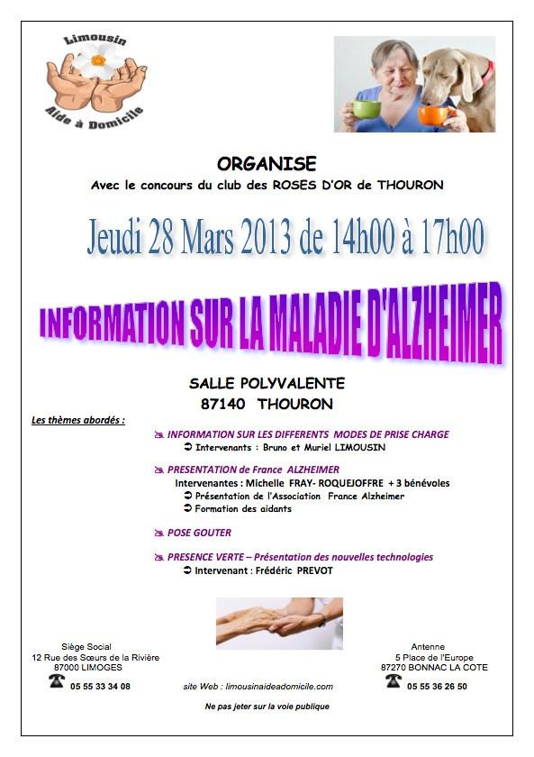 Information Sur La Maladie D'Alzheimer